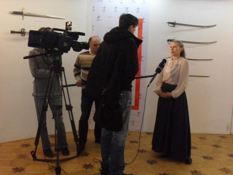 Марат Арнис берет интервью у Алины Туляковой