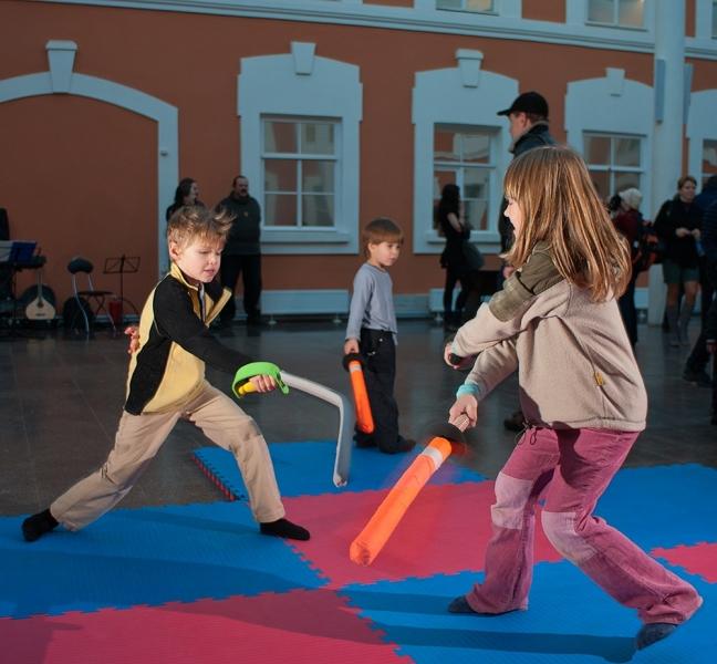 Детская площадка на Гранд Ассо 2011. Фото: Виталий Фёдоров