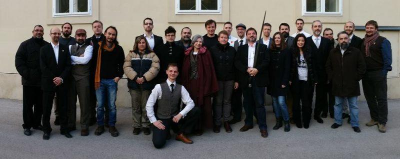 Общая фотография участников ассамблеи IFHEMA. 5 декабря 2015, Университет, Вена, Австрия