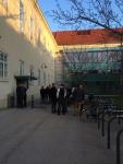 Campus. Университет в Вене.