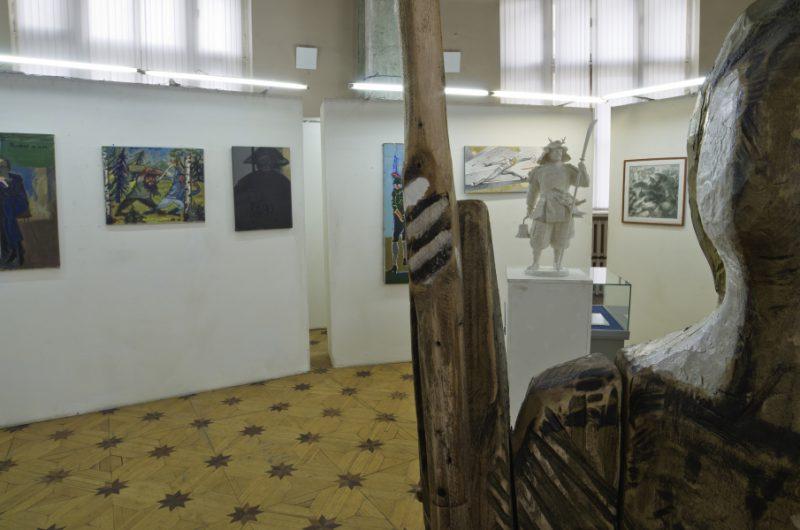 Живопись на выставке
