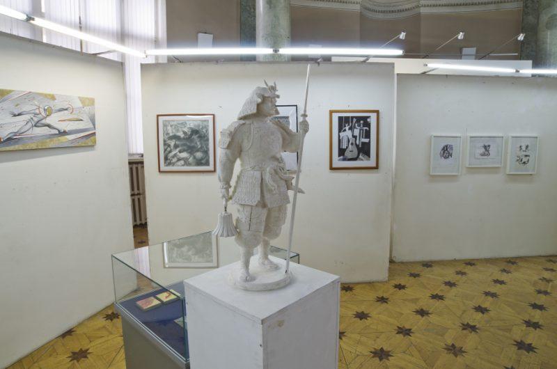 Скульптура САМУРАЙ Сергея Алексашкина,. Один из фаворитов зрительский симпатий