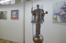 Скульптор Эдуард Мхоян АРХАНГЕЛ МИХАИЛ