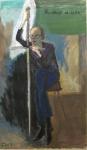 Заславский Анатолий «Виктор и Меч», 2013. Х., м. 95х55