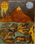 Котельников Олег, Юфит Евгений «Последний день Помпея», 1984. Х,м. 70х88