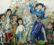 Зайцева Элизавет (США) «Недетские игры», 2010. Х., м. 61х 50