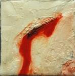 Дашевский Александр «Колотые раны», диптих.2011. Х., м. 10х10