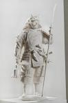 Алексашкин Сергей «Самурай»,2009. Гипс, 70х37х30