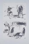Бертельс Василий «Искусство фехтования», «Дуэлянты» 1994. Бумага, тушь, перо. 21х15, 21х15