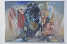 Бертельс Василий «Армагеддон», 1997. Орг., м. 90х60