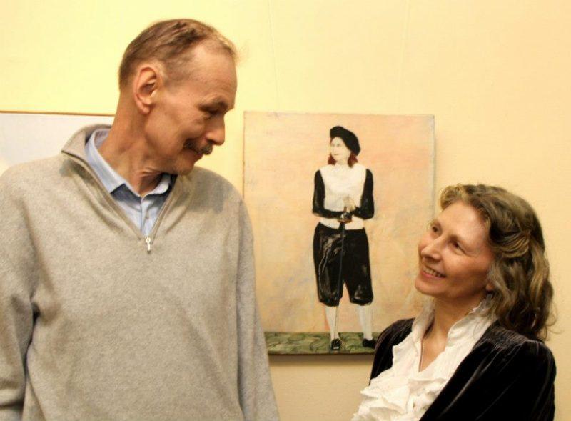 Владимир Шинкарев и Алина Тулякова