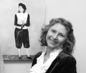 Алина Тулякова, организатор цикла выставок