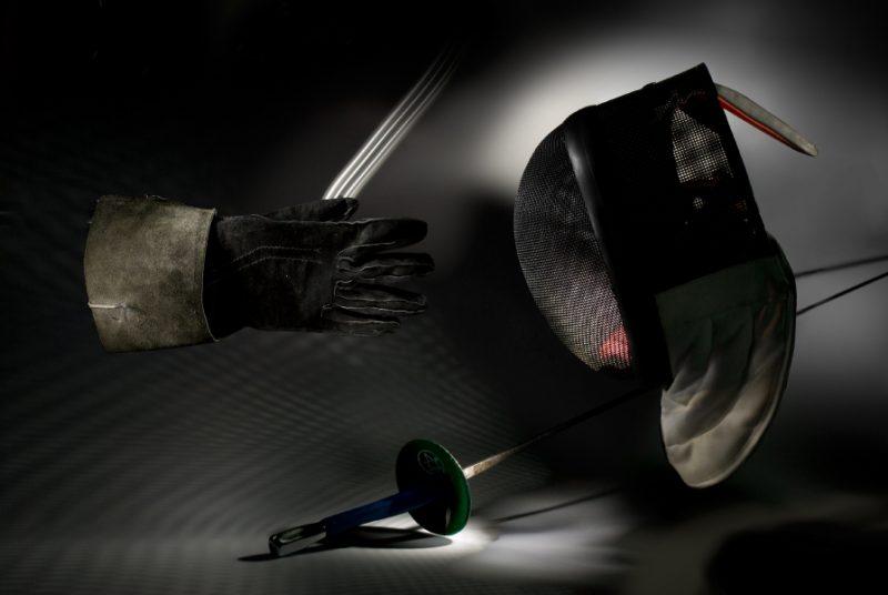 Свешников Сергей. Фехтовальный натюрморт. Цифровая фотография.2009