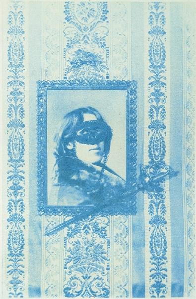 Новиков Тимур Железная маска, гуммиарабиковая печать,1996