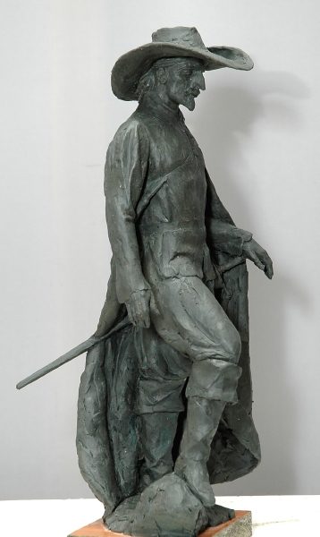 Литвинов Илья «Испанец», 2011. Пластилин, 34х14х10