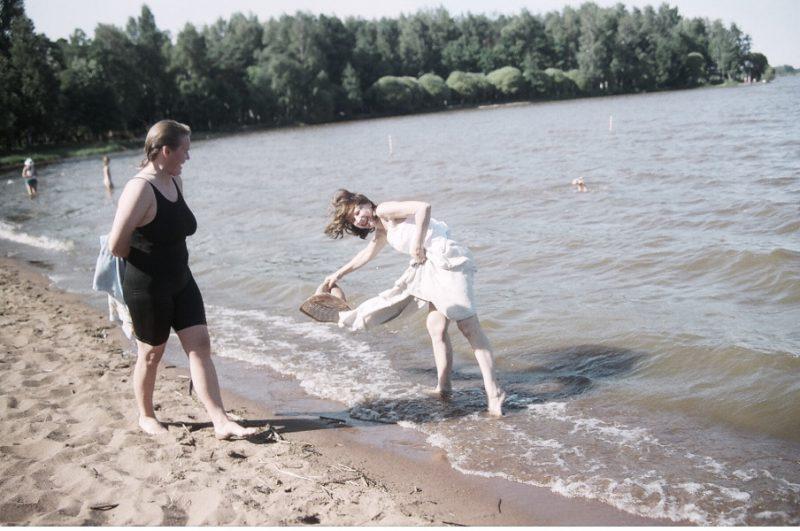 У озера Разлив. СПбФК - Фехтование на пленэре. Фото: Дмитрий Конрадт