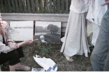 Выставка новых работ. СПбФК - Фехтование на пленэре. Фото: Дмитрий Конрадт