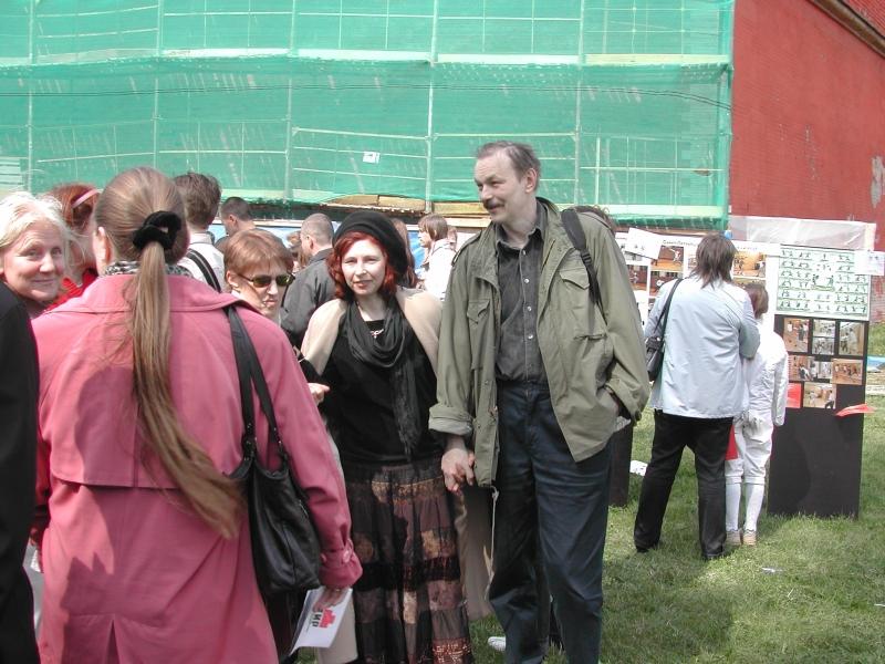 Шинкарев Владимир с супругой