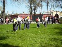 Спортсмены выходят на бой Султанчики