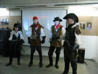 Часть основного состава участников Студии Историко-Сценического Фехтования