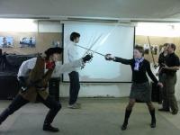 Первые Дни фехтовальной культуры 2010. Вечер студии