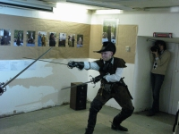 Артем Шабанов и двойное оружие: шпага и дага