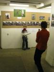На выставке фотографий Шеремета М. проходят первые Дни фехтовальной культуры
