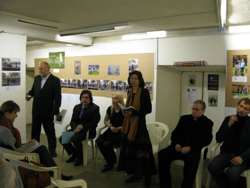 Пресс-конференция на открытии первых Дней фехтовальной культуры