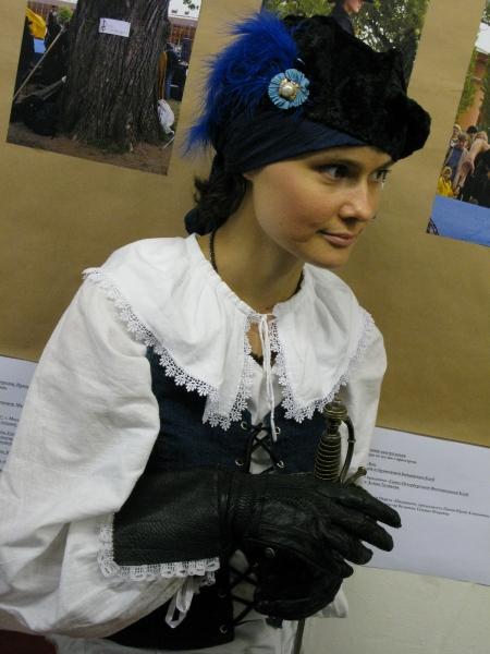 Фехтовальщица Юлия Федорова, Парад-Рипост