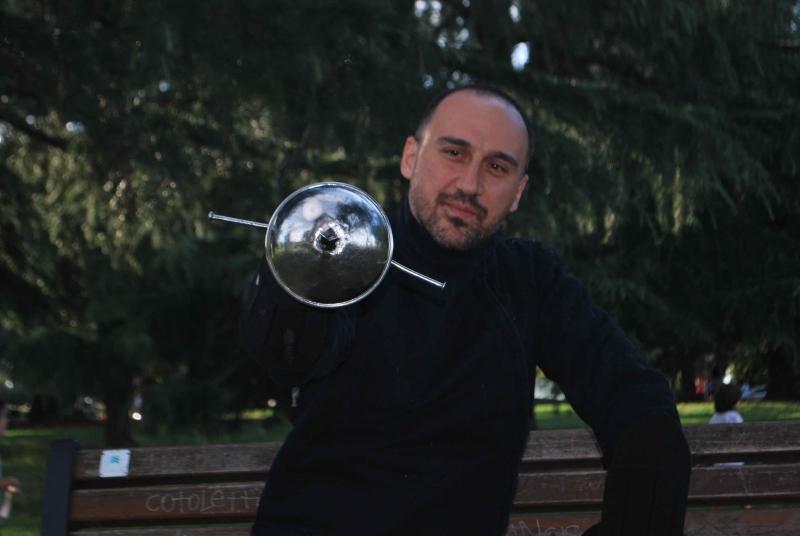 Francesco Lodà, Рим, Италия. Workshop в Санкт-Петербургском Фехтовальном Клубе. 2016