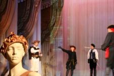 Парад-Рипост на сцене