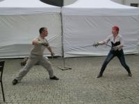 Лучший способ обучение фехтованию - индивидуальный урок с мастером