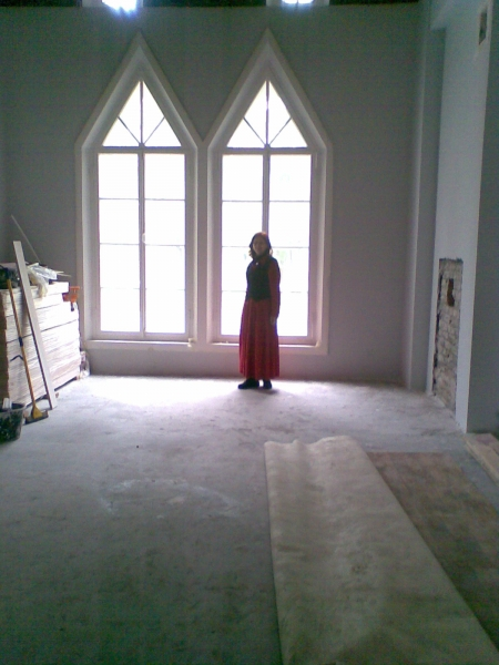 Алина Тулякова в павильоне Адмиралтейство