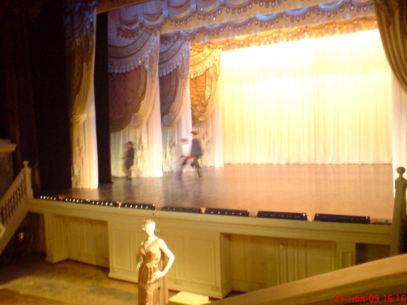 Фехтование на сцена Эрмитажного театра - беспрецедентное событие