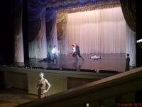 Фехтованиена сцене Эрмитажного театра