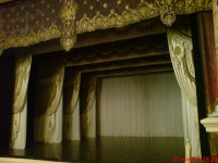 Фехтовальщики с достоинством выступили на знаменитой сцене. В ХVIII веке Эрмитажный театр считался одним из лучших камерных театров в мире