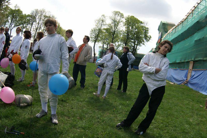 Спортсмены из клуба Старт Петроградского района