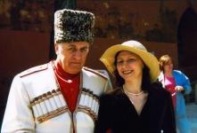 Атаман Даскиев и Алина Тулякова