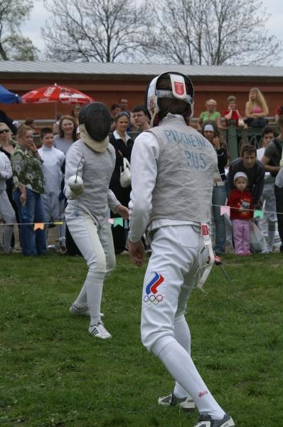 День Фехтовальщика 2007. Спортсмены из СДЮШОР