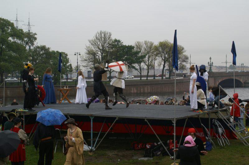 День Фехтовальщика 2008. Выступает центр