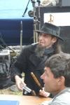 В шляпе - Александр Рапопорт(Германия) художник и фехтовальщик