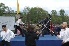 День Фехтовальщика 2009. Совместное выступление