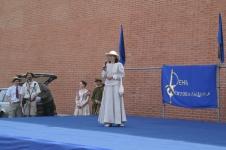 Открывает праздник Алина Тулякова, председатель СПбФК