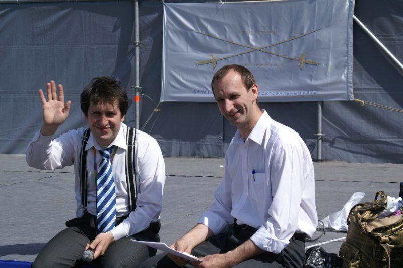 Дмитрий Тейбер-Лебедев и Георгий Кобиашвили
