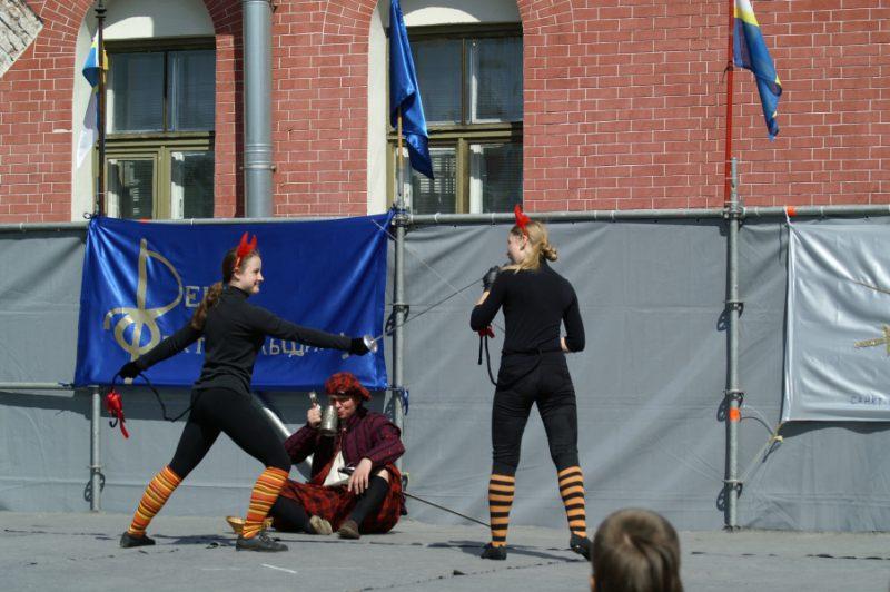 Школа фехтования Флер де Фер. Ефимова В. и Булавина Н.