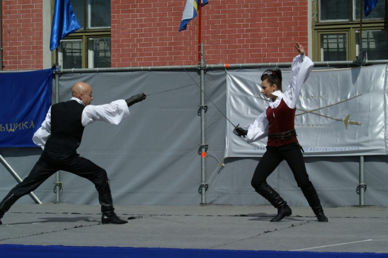 Дмитрий Иванов, руководитель VOLTE и Кристина Трофимович.