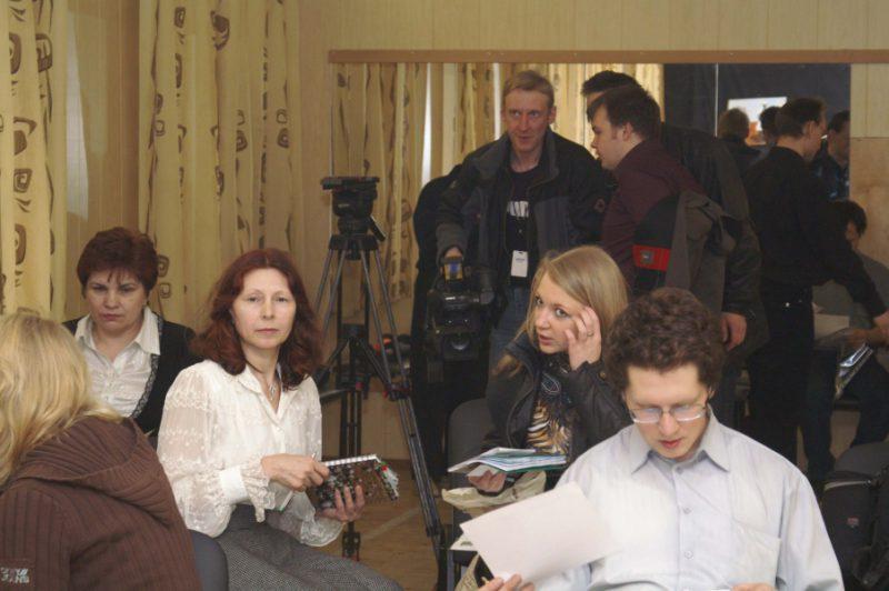 На презентации присутствовали руководители ГУ ПМЦ Петроградский, которые поддерживают СПбФК