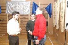 (Слева направо)Парад - Рипост:Александр Куссуль, Руслан Каприлов с Андреем Нечаевым,Бойцовский клуб