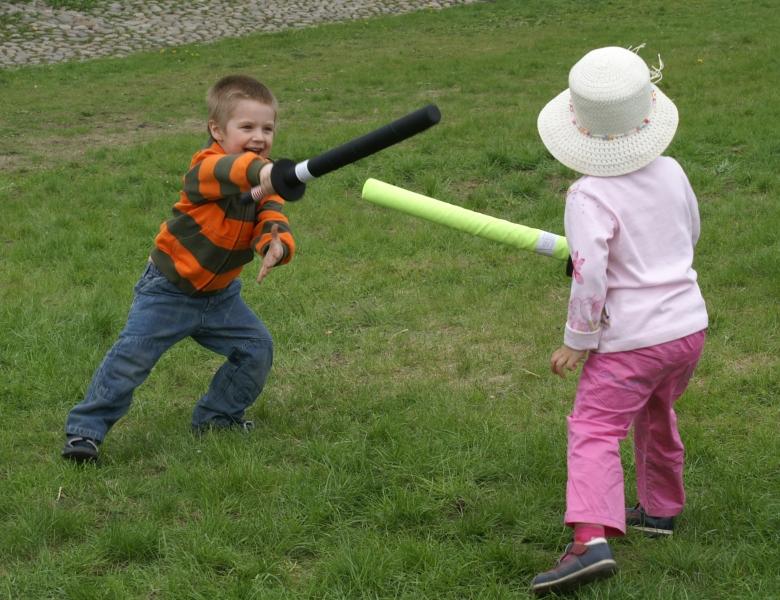 Безопасное оружие для малышей