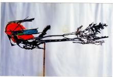 venera-pervaya-krasnaya-zvezda-poyavlyaetsya-na-gorizonte-pri-zahode-solntsakogda-derev-ya-lozhatsya-spat Скульптор Павел Шевченко